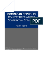 Dominican Republic CDCS Public Version FY14 FY18