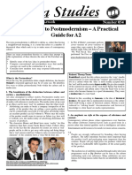 54 a2 postmodernism guide