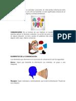 Comunicación, Elementos y Medios