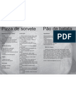 Receitas Pizza de Sorvete