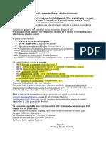 Informatii Pentru Sesiunea Din Ianuarie