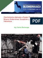 oleohidráulica-minería-subterránea