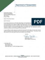 TxDOT Letter to El Paso Electric