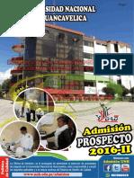 Prospecto COMPLETO de Admisión 2016-II UNH