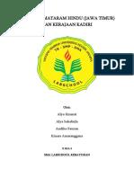 Mataram Hindu & Kediri