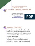 6.5 Internet Transport Protocols TCP