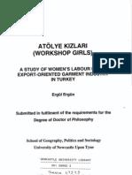 Atölye Kizlari (Workshop Girls)