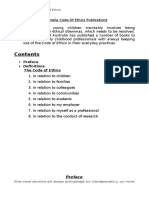 Early Childhood Australia Code of Ethics Publications