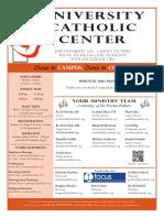 UCC Bulletin 3-20-2016