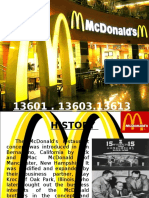 HRM PRESENTATION ON MCDONALDS