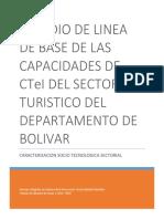 Ciencia y Tecnologia en Turismo en el departamento de Bolivar