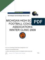 2009 Mhsfca Clinic