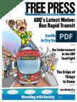 Albuquerque Alternative Newspaper  - ABQ Free Press - March 9 2016
