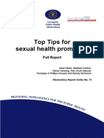 72,Sexual Health Top Tips Full Report FINAL 2