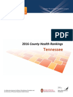 Tennessee County Health Outcomes--Robert Wood Johnson Foundation