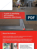 Cs Expansion Joint Cover Specinstall Guide