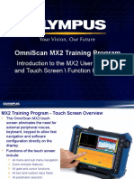 MX2 Training Program 03 MX2 Touchscreen and User Interface