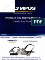 MX2 Training Program 04B Phased Array Probes