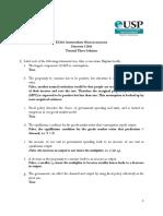 EC201 Tutorial Exercise 3 Solution