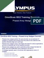 MX2 Training Program 04C Phased Array Wedges