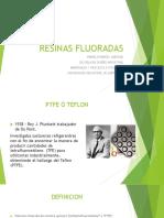 RESINAS FLUORADAS