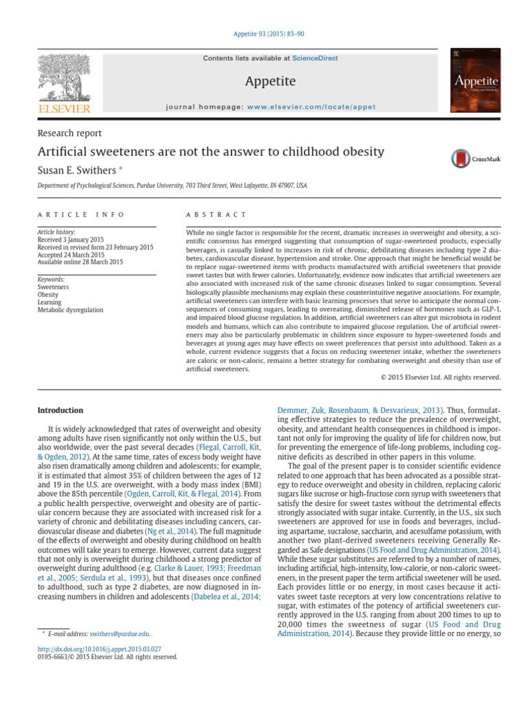 argumentative essay about childhood obesity