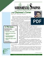 April 2010 Environmental Synopsis