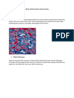 Jenis Jenis Batik Nussdsdantara