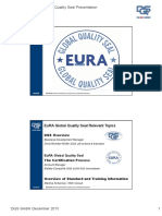 DQS EuRA Global Quality Seal Presentation 2015