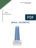 Manual Rugosimetro 2016