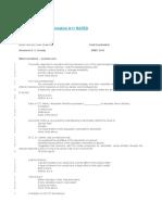 BEHS 364 Final Examination A++