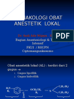 Farmakologi Obat Anastetik Lokal