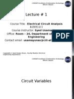 ECA Lecture 1