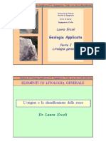 Slides Rocce Geologia