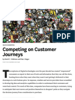 Competing on Customer Journeys