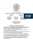 Assembly Workgroup on Legislative Process, Page 4 Operations, and Public Participation Recommendations,