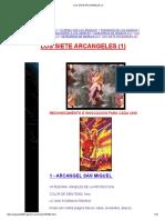 Los Siete Arcangeles (1)
