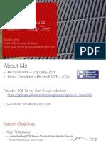 SQL Server 2014 AlwaysOn AG Failover