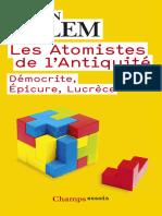 Les Atomistes de l'Antiquite_ - Jean Salem_35900