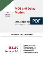 F2015 Lec 02 MOS Delay Models