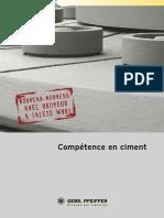Competence en Ciment