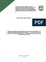 Tcc 1 Estudo Multi-caso sobre direcionadores de custos na micro região do norte do estado de mato grosso