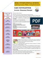 Altamira International School Newsletter - March - June 2010