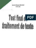 Test Final