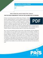 Nota Pa Prensa 2016 Daadkracht