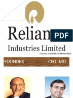 vision and mission statement of reliance industries Wwwrcomcoin.