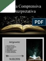 Lectura Comprensiva e Interpretativa