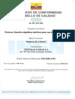 Esmalte Alquidico Nte Inen 2 094