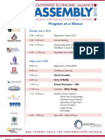 Program to April 19