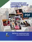 La radio communautaire pour lempouvoirement des femmes et la bonne gouvernance